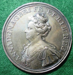 Battle of Malplaquet medal 1709