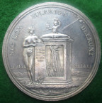 James II, Birth of Prince James 1688, silver medal by Jan Smeltzing