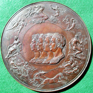The Great Waterloo Medal by Pistrucci