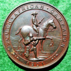 Wales, Montgomeryshire, Imperial Yeomanry, Boer War Tribute Medal 1901, bronze