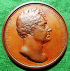 George IV, Coronation 1821 & The King's Champion, bronze medal