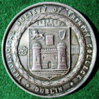 Ireland, Dublin, Trinity College, Theological Society, silver prize medal