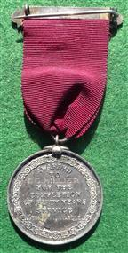 Bath (Somerset), Council, 50 Years Service, Silver Medal