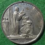 Victoria and Albert, Wedding 1840, white metal medal