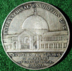 London, South Kensington International Exhibition 1862, Uhlhorn's medal, silver, by J Wiener