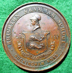 Preston (Lancashire), The Earl of Derby, Guild Mayor &  The Countess of Derby, bronze medal 1902