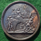 Manchester Pitt Club 1813, silver medal by T Wyon