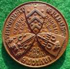 Archaeology, British Archaeological Asociation, Gloucester meeting 1846, bronze medal