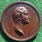 Theatre, George Cooke (actor), bronze laudatory medal 1805