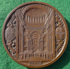 National Thanksgiving for the Recovery of the Prince of Wales 1872, large bronze medal by JS & AB Wyon