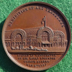 Manchester, Exhibition of Art Treasures 1857, bronze medal by Pinches