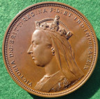 Victoria, Golden Jubilee 1887, bronze medal by A Wyon