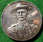 Boer War, Baden-Powell & the Defence of Mafeking 1900, silver medal