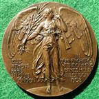 London Olympics 1908, bronze participant's medal by B Mackennal