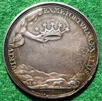 Charles I, Memorial Medal 1695, silver