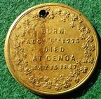 Ireland, Death of Daniel O'Connell 1847, brass medal