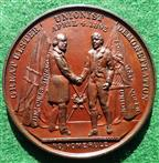 Ireland, Ulster Unionist Demonstration 1893, bronze medal