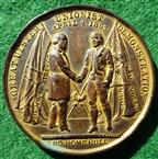 Ireland, Ulster Unionist Demonstration 1892, bronze medal