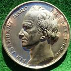 Sir Isambard Marc Brunel, Thames Tunnel Opened 1843, white metal medal
